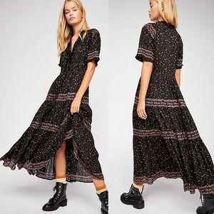 NWT Free People Rare Feelings Maxi Dress